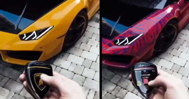 Next Level Car Mod Lets you Change the Color of Your Vehicle