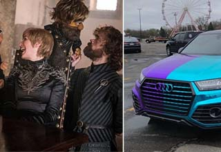 Feast your peeps on these gems. Fascinating photos from around the internet. Random delights to surprise and amuse. Game of Thrones was on Sesame Street! A car with an amazing paint job! and that's just the start.