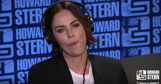 Charlize Theron on the Howard Stern Show