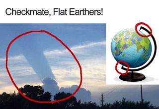 flat earth memes that are banned by the government
