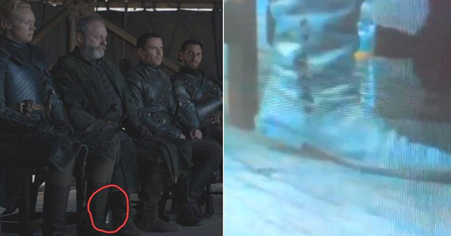 plastic water bottle spotted on game of thrones