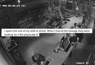 WTF moments from the world of CCTV. People who work with security cameras shared their creepiest moments from their time monitoring the devices.
