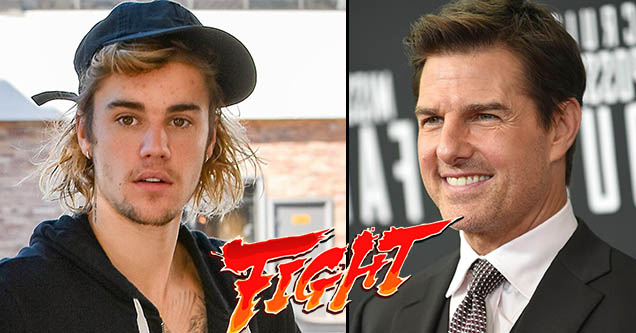 Justin Bieber Challenged Tom Cruise to a Fight and Connor McGregor Is All In