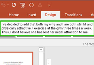 There's desperate, and then there's DESPERATE. After his wife made it clear she wasn't about her husbands sexual kinks, he went full insane and made a PowerPoint presentation to try and convince her.