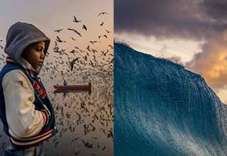 Breathtakingly beautiful pictures selected by National Geographic. These photos were taken all over the world and show a breadth of natural wonder.