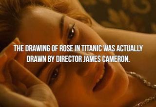 Some really interesting and surprising facts about Titanic, Taxi Driver, Alien and more! How many of these did you already know? Be honest.