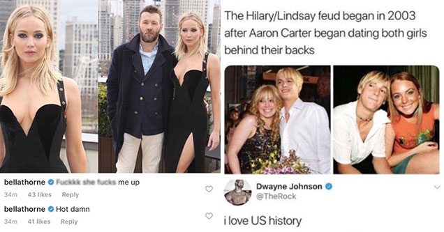 26 Celebrities Taking Shots At Each Other On Instagram