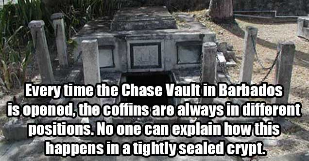 Chase Vault in Barbados