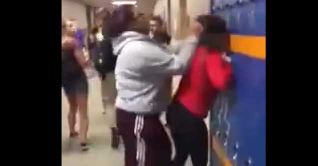 Girl beats her brother's bully