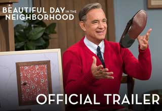 Official trailer thumbnail for Tom Hanks playing Mister Rogers