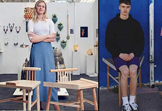 "University of Brighton student Laia Laurel designed a custom chair that prevents men from spreading their legs, aka ""<a href=""https://www.urbandictionary.com/define.php?term=manspreading"" target=""_blank""><em>manspreading</em></a>,"" as part of an art piece titled, <a href=""https://www.lailalaurel.co.uk/a-solution-for-man-spreading?fbclid=IwAR3OUwGohLLoM8d9clux9m4ttL4iVX-NeNT_mu9sbo85PZrMHonj1jJOAIc"" target=""_blank"">""A Solution for Man-spreading.""</a> The chair <a href=""https://www.brighton.ac.uk/about-us/news-and-events/news/2019/07-05-lailas-anti-manspreading-chair-wins-national-award.aspx"" target=""_blank"">received the Belmond Award</a>  because her design is, ""a bold, purpose-driven design that explores the important role of design in informing space, a person's behaviour and society issues of today.""  <br><br> Laurel, who will be graduating later this month, said of her design, ""It came both from my own experiences of men infringing on my space in public, and also from '<a href=""https://everydaysexism.com/"" target=""_blank"">The Everyday Sexism Project</a>,"" which is a website in which women write about the sexism they experience in everyday life.  <br><br> It has been <a href=""http://www.ladbible.com/news/interesting-woman-designs-chair-to-stop-manspreading-20190717?source=twitter""  target=""_blank"">featured in multiple news outlets</a> and has quickly become the next big <a href=""https://www.reddit.com/r/MensRights/comments/cbhah3/woman_designs_chair_to_stop_manspreading_wins/"" target=""_blank"">online controversy</a>."