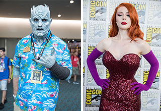 Comic-con is the biggest nerdgasm of the year, and a time when we get to see some of the best cosplays.