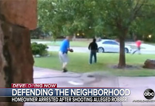 Man defends his house from teens who want to rob him