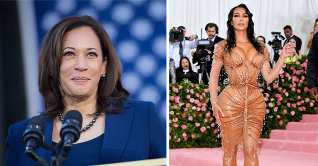 Democratic Candidates as Porn Stars - Kamala Harris as Kim Kardashian