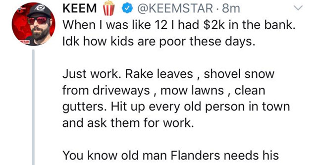 Keemstar shows his true color in awkward twitter exchange