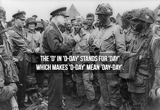 cool facts from history - the truth origin of the d in d-day