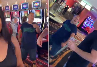 Bagel boss gets into a fight at a casino