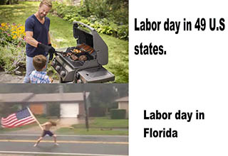 "We hope you're not working on <a href=""https://en.wikipedia.org/wiki/Labor_Day"" target=""_blank"">Labor Day</a> so that you can enjoy these fresh memes. Even if you are working on this holiday we still hope you can take some time to enjoy these fresh memes."