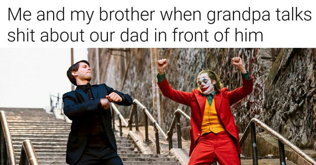 Peter Parker Dancing With The Joker Memes Funny Gallery