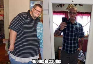 With hard work and dedication, these folks went from fat to fit in a major way.