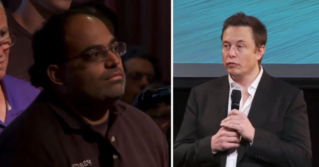 Random Guy Asks Elon Musk If He Can Be On The Tesla Board of Directors And Gets Laughed Off Stage