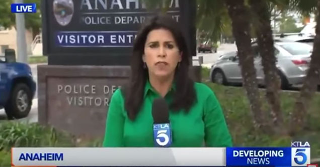 news anchor tried and failed to get a comment from a dead guy