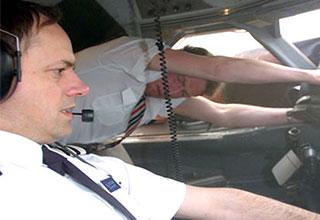 breakdown of the near crash of British Airways flight 5390