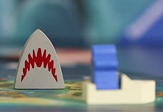 Screenshot from a the Jaws boardgame video