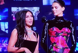Kim Kardashian & Kendall Jenner Get Laughed at The 2019 Emmy's