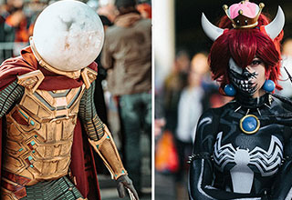 Comic-con comin at ya with the most creative cosplays out there!