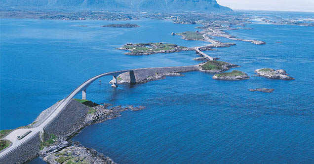 The Atlantic Road, Norway - most beautiful drives you need to take