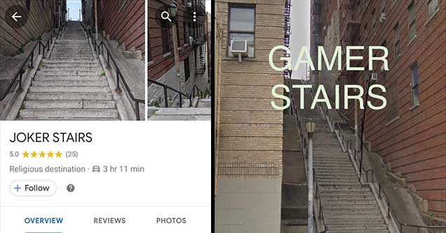 Where Are The Joker Stairs In New York Why Are There So