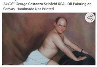 George Costanza is beyond wtf