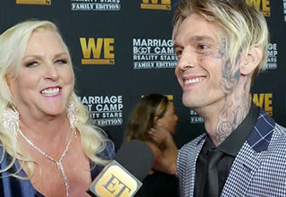 Aaron carter gives a really bizarre interview