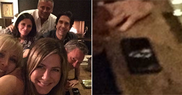 Jennifer Aniston post of photo of her doing cocaine on Instagram
