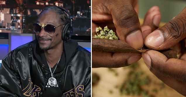 Snoop Dogg talks about his professional blunt roller