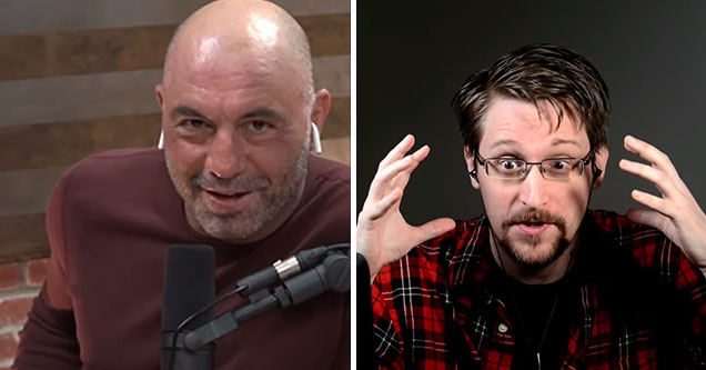 Edward Snowden on 'The Joe Rogan Experience'