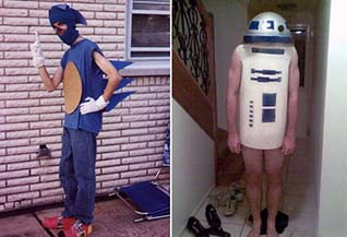 """This is not """"costume play"""" this is """"costume crime""""!  <br> <br> Check out some better versions of cosplay: <br> <a href=""""https://gaming.ebaumsworld.com/articles/25-hot-new-cosplays-to-get-2018-off-to-a-great-start/85548396/"""">25 Hot New Cosplays to Get You Started</a> <br> <a href=""""https://www.ebaumsworld.com/pictures/all-the-best-cosplays-from-san-diego-comic-con-2019/86023629/"""">All the Best Cosplays From San Diego Comic-Con</a> <br> <a href=""""https://gaming.ebaumsworld.com/pictures/the-hottest-amouranth-cosplays/86065456/"""">18 Mega Hot Amouranth Cosplays</a>"""