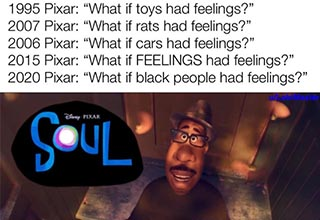 What if black people had feelings reddit meme.