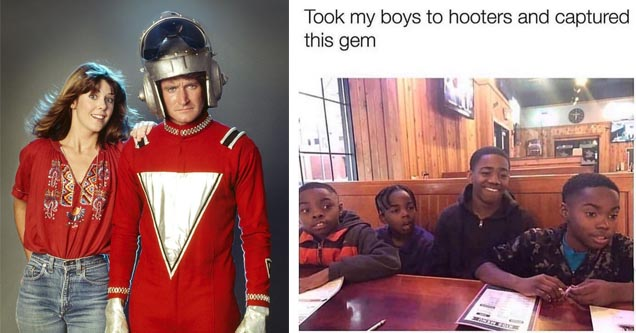 kids who's parents took them to hooters in a meme