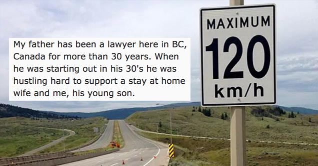 a sign from canada and a story about a legal loophole