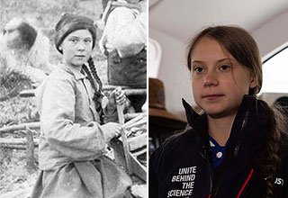Greta Thunberg time traveler theory explained