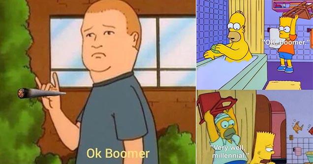 Media giant Fox has filed an application to trademark the phrase 'OK Boomer'