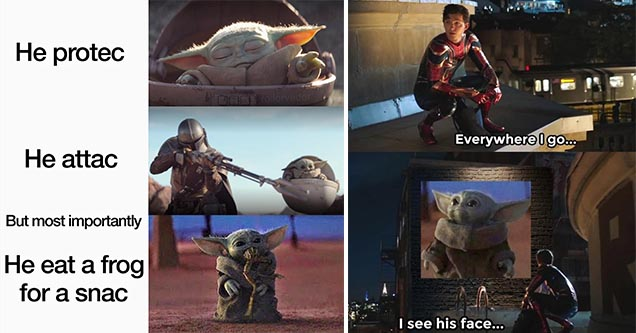 Baby Yoda Memes Just Might Be The Best Of The Year 66