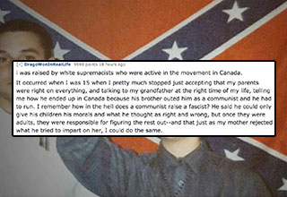 Reddit users share what drove them to leave the hate groups they were members of.