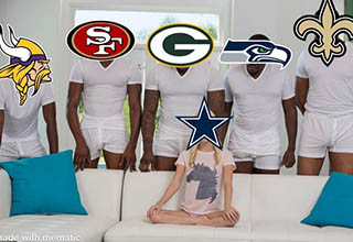 "Week 13 of the NFL is over and there are plenty of funny memes to go around. The Patriots continue to lose, Kirk Cousins still hasn't won a Monday Night Football game, and somehow the Cowboys are in better playoff contention even though they've lost 2 straight. <br><br> Check out our <a href=""https://www.ebaumsworld.com/pictures/funny-nfl-week-11-memes-as-week-rush-into-week-12/86121641/"">NFL Week 11 memes</a> while you're at it."