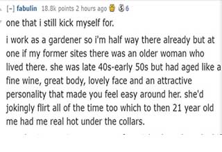 /r/askreddit gets a bit pornographic with tales from real life.