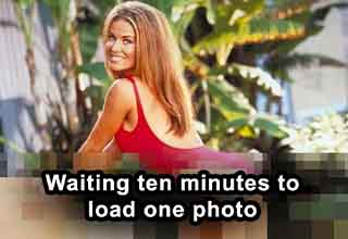 carmen electra baywatch - Waiting ten minutes to load one photo