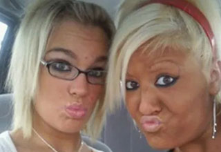 Dedicated to those dummies who make a duck face in pictures.