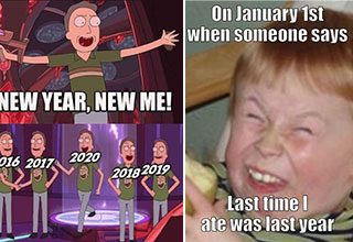 Can you think of a better way to end the year than with a batch of memes?